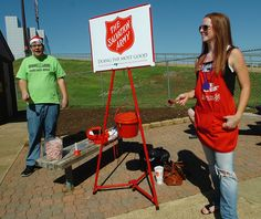There was a time in our lives when we needed the Salvation Army and they helped us. Now I NEVER pass a kettle without putting in money.  Pay it forward.