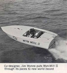 Wyn-Mill II Donzi 16 prototype. Jim Wynne