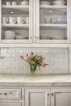 The Kitchen Glass Cabinet Series - 1  1. I love glass cabinets in kitchens. Even when I had no idea what my kitchen would look lik...