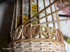 Мастер-класс Плетение Конфетница Трубочки бумажные фото 11