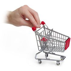 Mini-shopping cart for desk (I don't know why but I want this)
