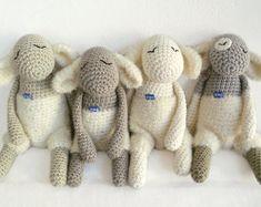 Stuffed animal / Mary's Little Lamb by eineIdee on Etsy