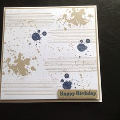 Gorgeous Grunge birthday card