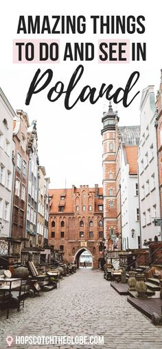Amazing things to do and see in Poland! Add this country to your Europe bucketli… Amazing things to do and see in Poland! Add this country to your Europe bucketlist because it's a cheap country that has beautiful things to discover! Backpacking Europe, Europe Travel Guide, Europe Destinations, European Vacation, European Travel, Italy Vacation, Vacation List, Vacation Style, Cool Places To Visit
