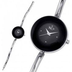 Ladies stainless steel TOUNDRA black watches - Xc38