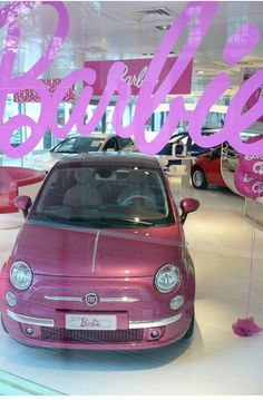 Barbie Fiat 500-Mine's copper, but I love this one too!