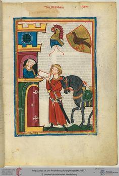 Da der Vorname des Dichters nicht überliefert ist, kann sein Geschlecht kaum sicher identifiziert werden. Vermutlich gehörte er aber einer schwäbischen Familie an. Das einzige von ihm überlieferte Tanzlied ist wohl in den 40er Jahren des 13. Jahrhunderts entstanden