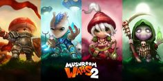 Mushroom Wars 2 is a short-session RTS starting a closed Beta on PC at the end of July before it's full launch later this year.