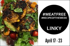 Chickpea, Mushroom & Sweetcorn Burgers + Link Up Your #MeatFree #RecipeoftheWeek April 17-23