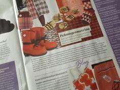Suomen suurin käsityölehti esittelee Töysän kenkätehtaan Arctips Saga -saappat. Suuri Käsityö 10 - 11/2013