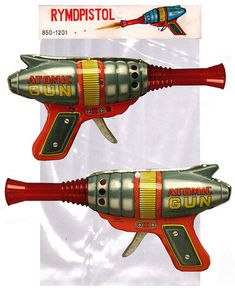 1960's Haji Japan Atomic Space Ray Gun