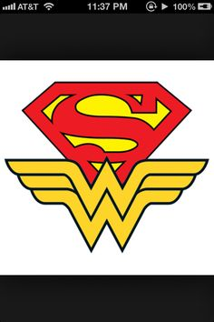 Superman Wonder Woman Tattoo