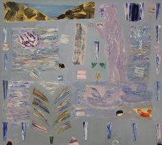 Passages: Between Sea and Sky by Tricia Gillman   University of Warwick Date painted: 1987 Oil on canvas, 142.2 x 165.1 cm Collection: University of Warwick