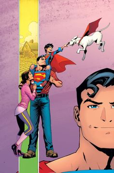 Superman #18 - Patrick Gleason, Colors: Mick Gray
