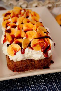 Cocina con Ana: BIZCOCHO DE PLATANO ESTILO STARBUCKS Cupcakes, Starbucks, Mashed Potatoes, French Toast, Catalan Food, Breakfast, Ethnic Recipes, Shape, Banana Crumb Cake