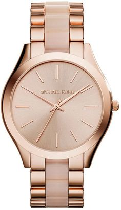 Michael Kors Rose Gold Watch