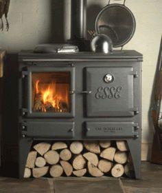 This would be great for inside on a cold evening! With some Hot Coca and marshmallows!....Wood burning stove