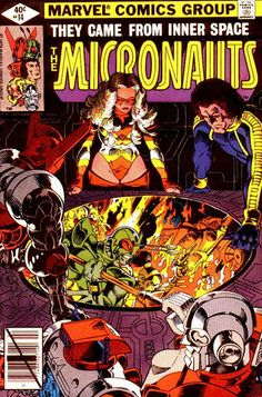 Micronauts # 14 by Michael Golden