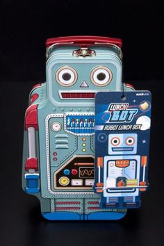 Robot Lunch Box WAS 15 NOW 8