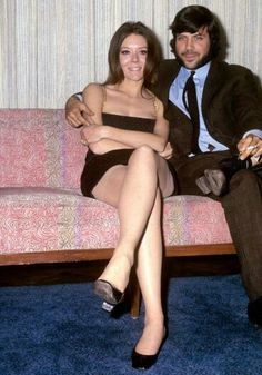 Diana and Oliver Reed
