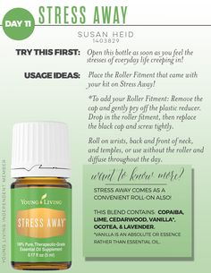 Young Living Stress Away - A Mom's Best friend , need I say more?