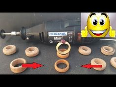 how to make many wooden ring ( very easy ) new - YouTube