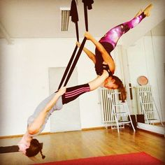 little acrobatics on hammock     acrobatics  ayfly  flyyoga  antigravityyoga   hammock  yoga hammockaerial     aerial yoga is so elegant   yoga types clothes and such      rh   pinterest