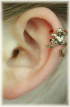 Frog Cartilage Ear Cuff