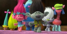 Watch the Official Trailer for Trolls, Starring Anna Kendrick, Justin Timberlake Mike Mitchell, Justin Timberlake, Trolls Birthday Party, Troll Party, Bon Film, Film D'animation, Minions, Anna Kendrick, Dreamworks Animation