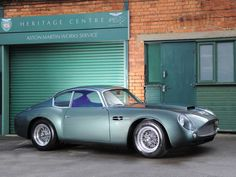 Редкие Aston Martin DB4 GT Zagato делает запись £ 1.23m в аукционе