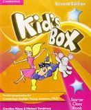 Kids Box Second Edition Starter Class Book +Teacher resource book with CD-ROM Well-loved by children and teachers the world over, Kid's Box is bursting with bright ideas to inspire you and your Grammar And Vocabulary, Vocabulary Activities, Book Activities, English Exam, Learn English, English Book, Cambridge Starters, English Starters, Ingles Kids