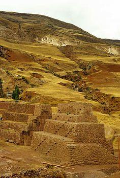 Rumicolca, pre-Inca gateway to the Valley of Cuzco Peru