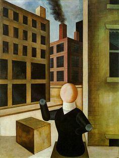 George GROSZ. Sans titre (Homme Réifié), 1920,