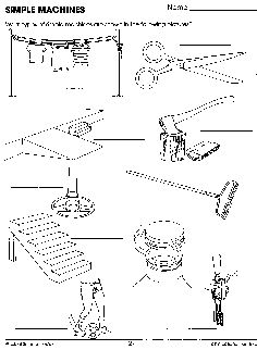 FREE Simple Machines Worksheets for Kids. These are great for ...