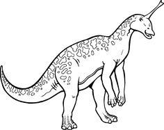 tsintaosaurus coloring page google search