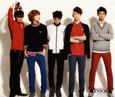 Shinee models for latest edition of Lacoste in High Cut Korea Magazine 2010