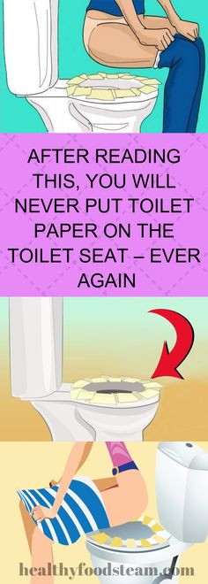 AFTER READING THIS, YOU WILL NEVER PUT TOILET PAPER ON THE TOILET SEAT – EVER AGAIN Healthy Treats, Healthy Drinks, Healthy Foods, Healthy Recipes, Healthier You, Want To Lose Weight, Plant Based Recipes, Natural Healing, Toilet Paper