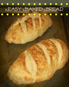 Easy Baked Bread
