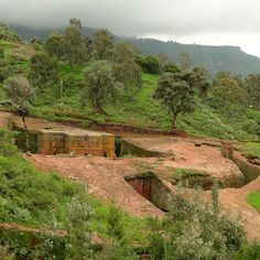 Las iglesias de Lalibela en Etiopía simplemente espectacular!