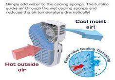 Creepy Cooling Appliances : Giko Electric Fan