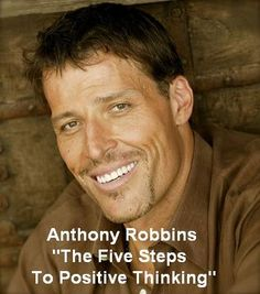 Free Self-Help Audio Book: The Five Steps To Positive Thinking by Anthony Robbins