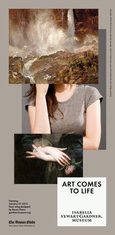 2 × 4: Project: Isabella Stewart Gardner Museum Campaign