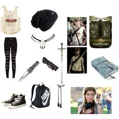 Maze Runner look 2 Zombie Apocalypse Outfit, Apocalypse Fashion, Movie Outfits, Fandom Outfits, Grunge Outfits, Fall Outfits, Fashion Outfits, Character Costumes, Character Outfits