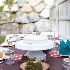 cute woodlands party / becky kimball