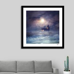 Discover «Sunset I C. III», Numbered Edition Fine Art Print by Viviana Gonzalez…