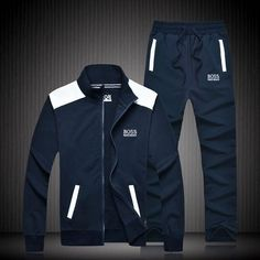 Hugo Boss Tracksuit, Mens Tracksuit Set, Hugo By Hugo Boss, Mens Sweat Suits, Track Suit Men, Sport Fashion, Adidas Men, Winter Outfits, Sportswear