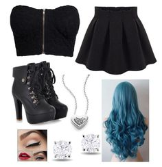 """""""Untitled #1433"""" by beau-4-ever ❤ liked on Polyvore featuring KC Designs, NLY Trend and Miadora"""