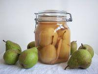 Härliga inlagda päron är fantastiska att plocka fram i vintertid och stället för att frysa in sensommarens skörd kan du göra inläggningar på...