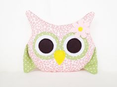 13 Awesome free printable owl pillow pattern images