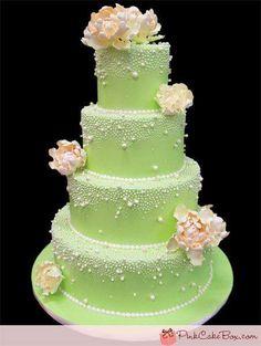 pretty colors... wedding cake